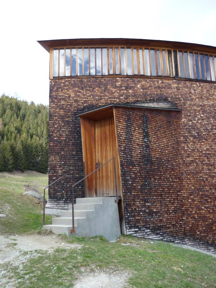 peter zumthor st benedict chapel Arkitektur Pinterest