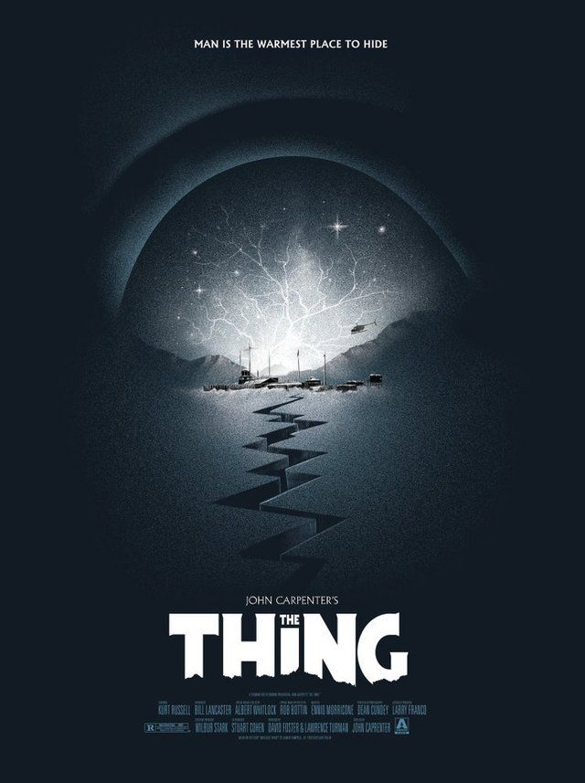 Https Www Reddit Com R Movieposterporn Comments 9te42i The Thing 1982 747 X 1000 Movie Poster Art Horror Movie Art Mondo Posters