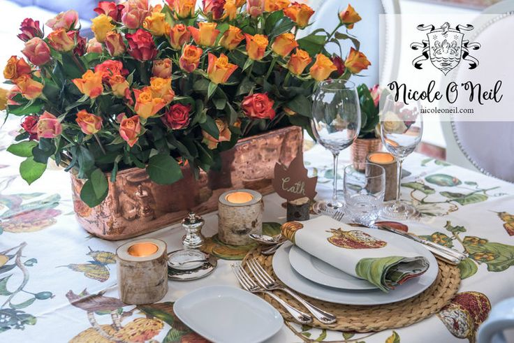 Be Inspired: An Autumn Inspired Table Setting — Nicole O'Neil - Real Housewives of Sydney Blog