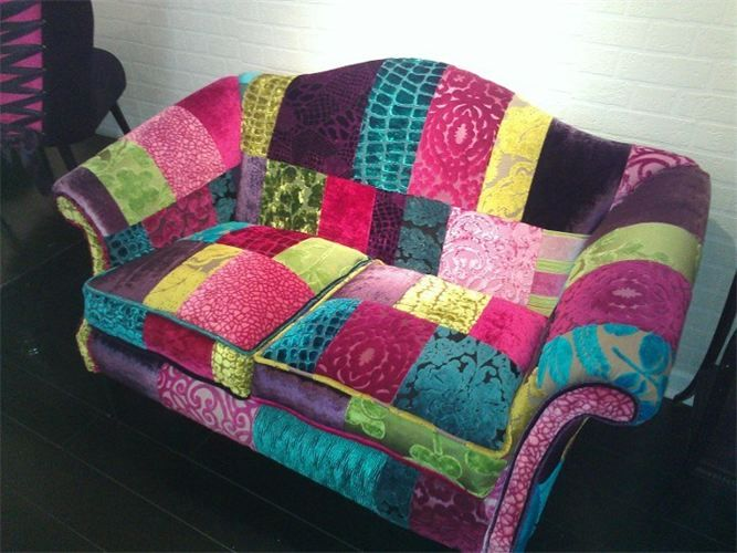 17 best images about sofas and couches on pinterest for Patchwork couch