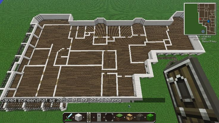 Deluxe mansion minecraft project minecraft pinterest Blueprints of houses to build