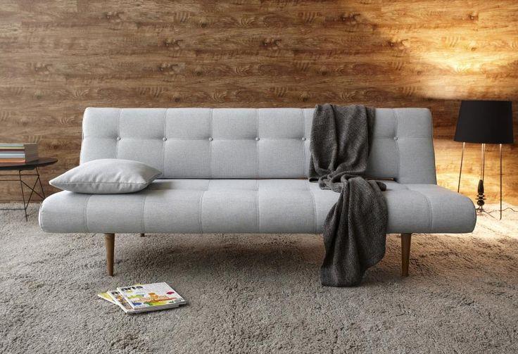 Divano letto Unfrul Deluxe, tessuto Soft Pacific Pearl. Innovation.
