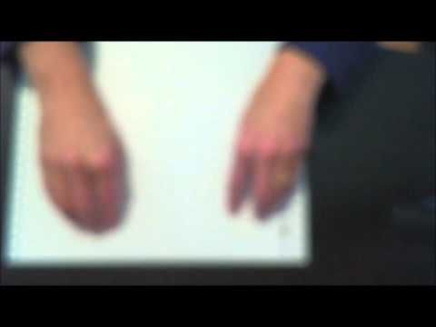 Dr. Robinson teaches beginning steps to Learn to Read Braille fast and e...