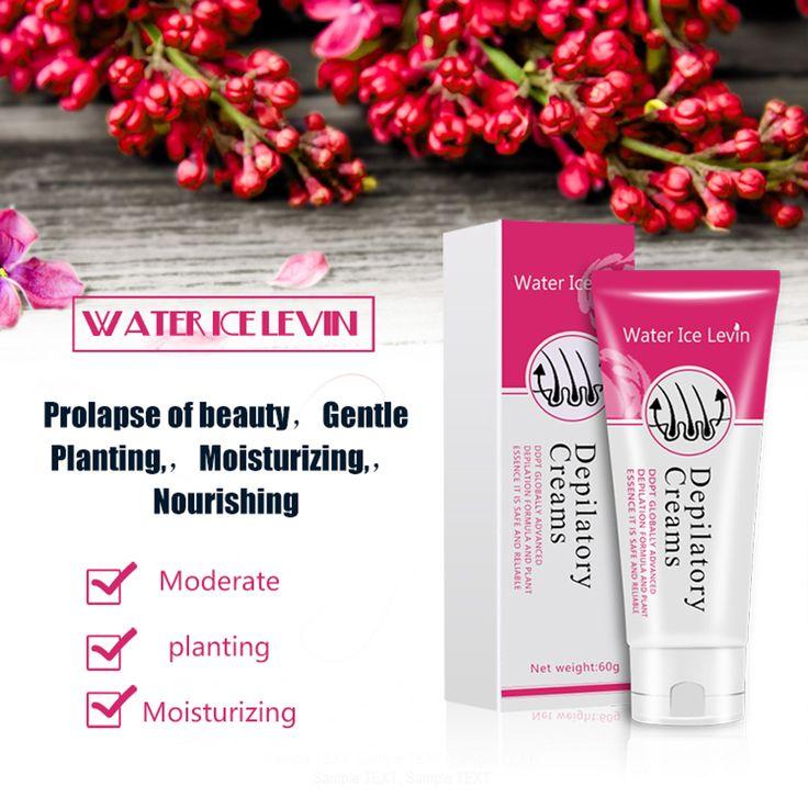Water Ice Levin® Men&Women Powerful Depilatory Hair Removal Cream Hair Growth Inhibitor