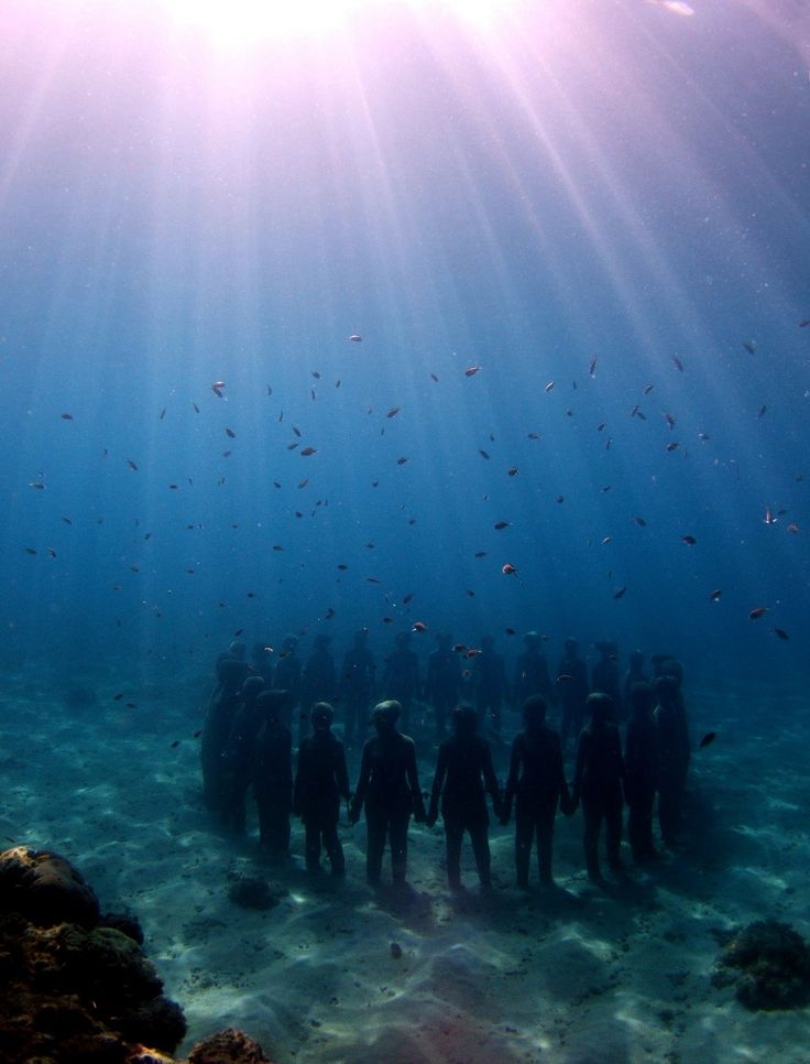 The Underwater Sculpture Park, Grenada