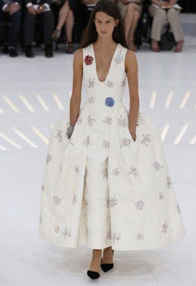 In beeld: de haute couture-collectie van Raf Simons voor Dior