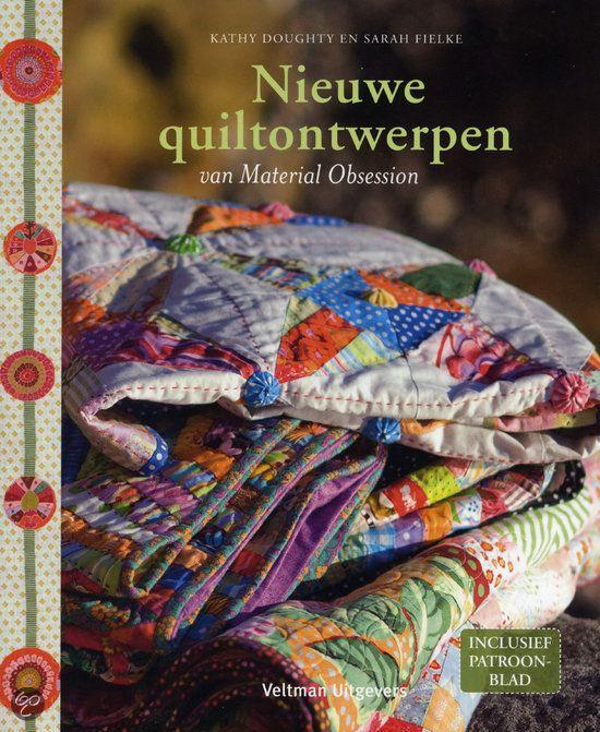 Nieuwe quiltontwerpen van Material Obsession - Kathy Doughty - ISBN 9789048302451