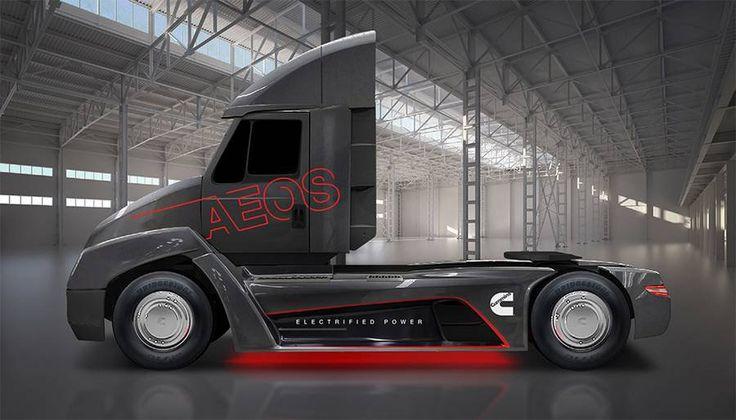 Cummins fully electric heavy-duty truck 9/1/17