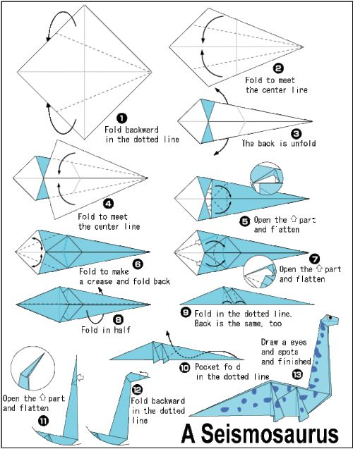 best 25 printable origami instructions ideas on pinterest Origami Square Diagram Origami Great White Shark
