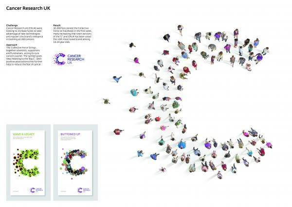 CANCER RESEARCH UK BRAND IDENTITY, 1, Interbrand Group, Cancer Research Uk, Print, Outdoor, Ads