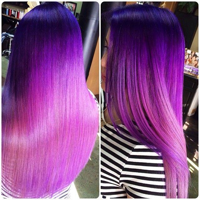 Purple to Pastel