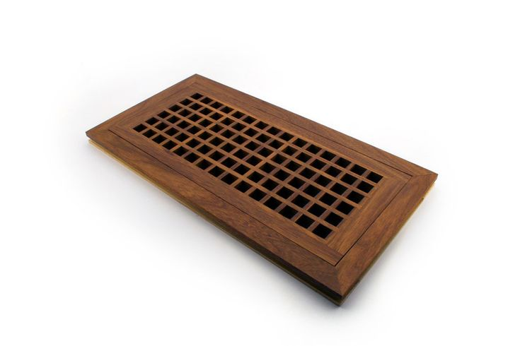 Flush Mount Egg Crates are installed with your hardwood flooring.  These vents are available in standard and custom sizes and are designed for larger duct opening's.
