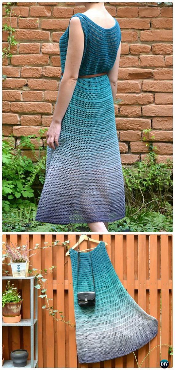 Crochet Nori Dress Free Pattern - Crochet Women Dress Free Patterns