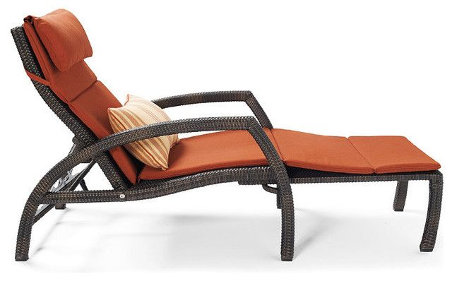 Contemporary Outdoor Chaise Lounges Modern Design With Pillows
