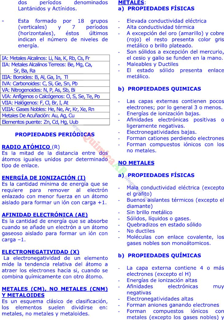 45 best EDUCACION images on Pinterest Periodic table, Ap spanish - best of tabla periodica completa para descargar