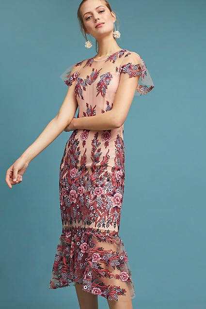 eb4a24a89885 ... dresses layered with lace. Shoshanna Loveland Embroidered Dress #ad  #AnthroFave #AnthroRegistry Anthropologie #Anthropologie #musthave  #styleinspiration