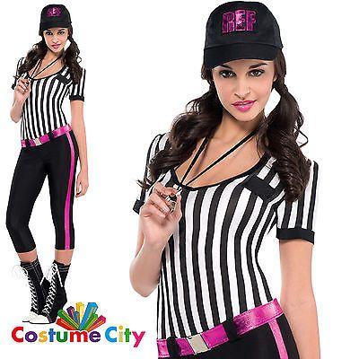 #Adults womens instant #replay referee halloween fancy dress party #costume, View more on the LINK: http://www.zeppy.io/product/gb/2/301870189986/