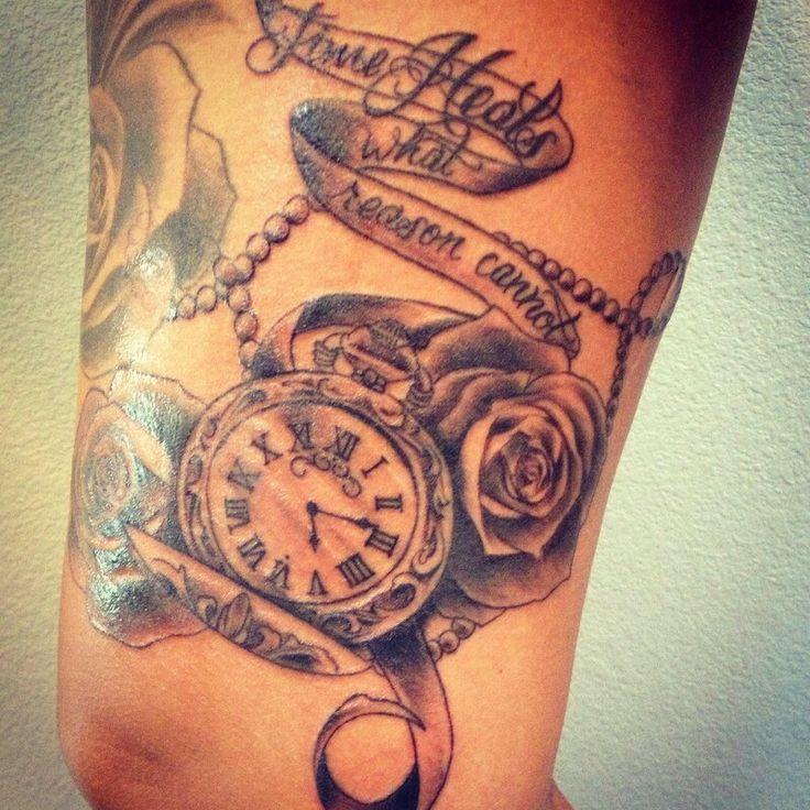 Time Heals Quotes Tattoo Meer dan 1000 ideeën over tijd heelt ...