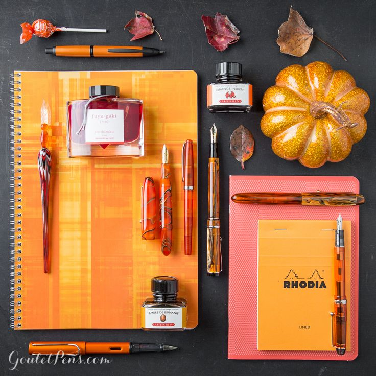 Goulet Pens Blog: Thursday Things: Persimmon Persuasion