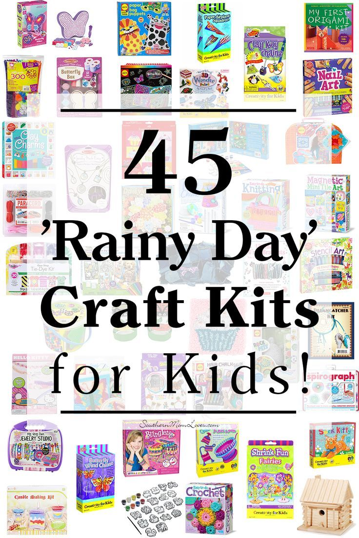 Southern Mom Loves: 45 'Rainy Day' Craft Kits for Kids!