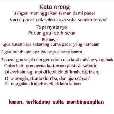 True.. #teman#pacar#fakta#sahabat#gambarkata#cinta#kangen#lovestory#loves#keepcalm#asmara by trueloves177