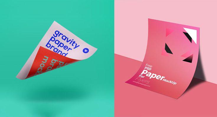 30 mockups PSD gratuitos de calidad para diseño editorial vía Creativos Online