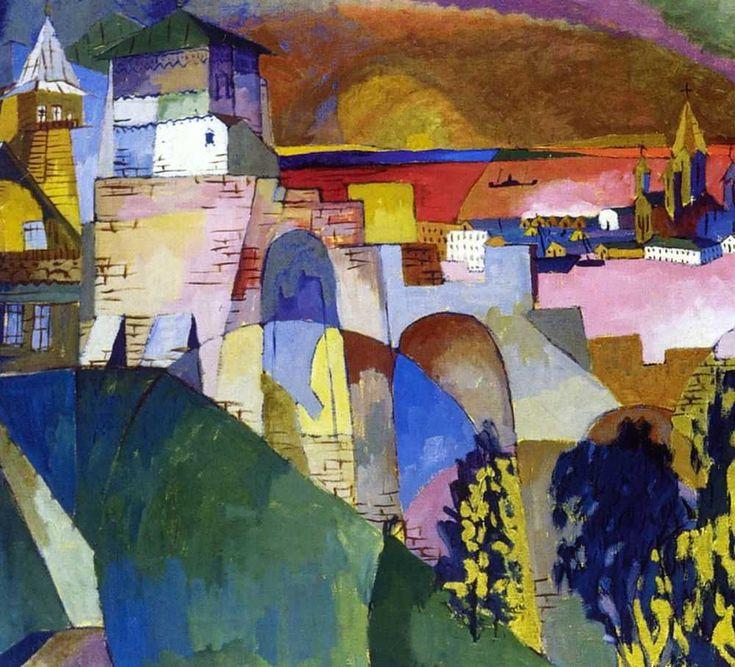 Aristarkh Lentulov  1882-1943 Nizhni Novgorod