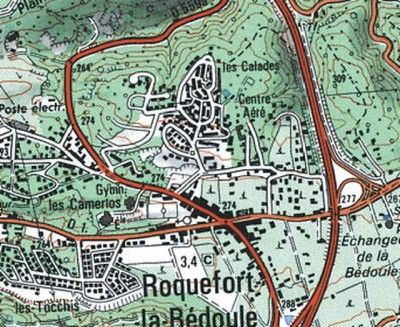 EN EXCLUSIVITE - A vendre proche centre de Roquefort la Bédoule, terrain constructible, plat de 541m², viabilités en bordure (Electricité, Eau, Téléphone, Tout à l'égout). Possibilité de construction [...]