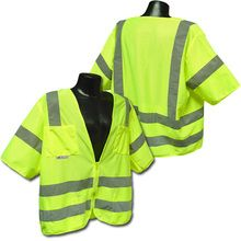 Radians Hi Vis Green Mesh Vest Class 3 SV83GM |  Hi Vis Safety Direct , will be any price , call us for direct pricing !