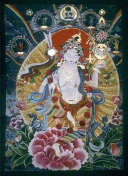 Мандарава-индийская принцесса,  является олицетворением жизненных сил, здоровья и долголетия.