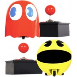 Bring The Fun Of PAC MAN Video Game To Your Living Room Floor Pit Racer Against Ghost With Easy Use Infra Red Controls