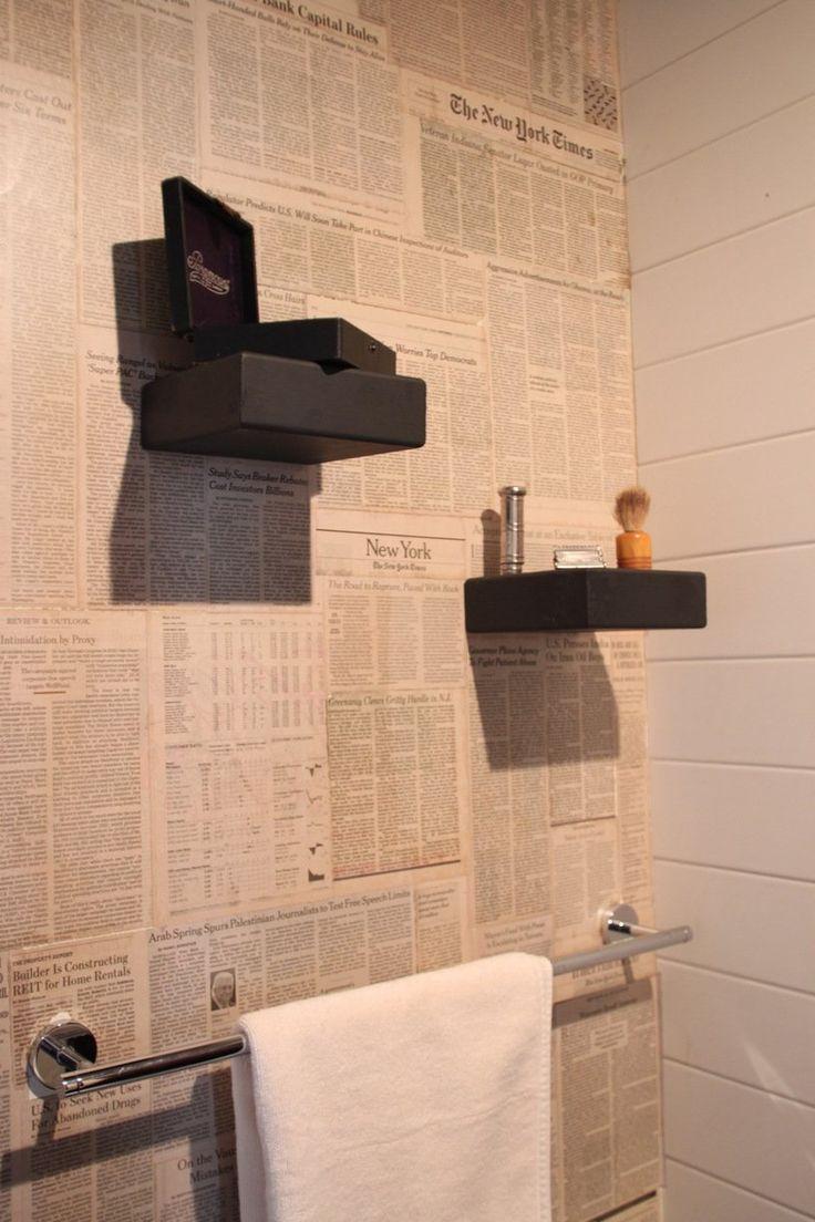 25 best newspaper wallpaper ideas on pinterest newspaper wall jared s graphic organic