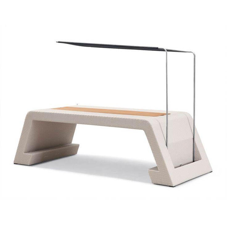 Meble ogrodowe Emperor zestaw stołowy z ławkami