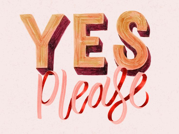 yes please | type and graphics lab