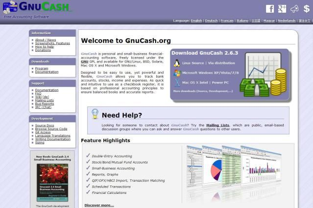 GnuCash Free Personal Finance and Accounting Software