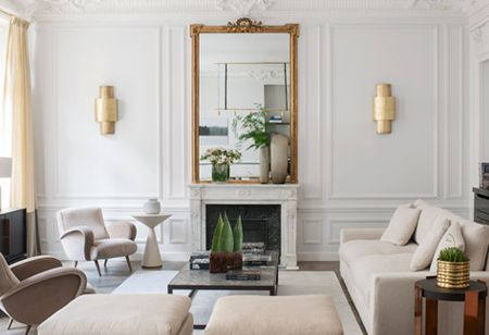 House Tour: A French apartment with Parisian glamour and a pearlescent finish