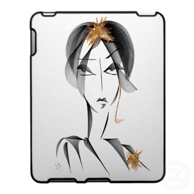 Hard Shell IPad Case.  Designed by HAyk avaliable on Zazzle for only $56.20.