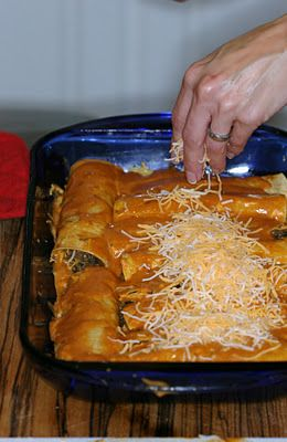Easy Ground Beef Enchiladas