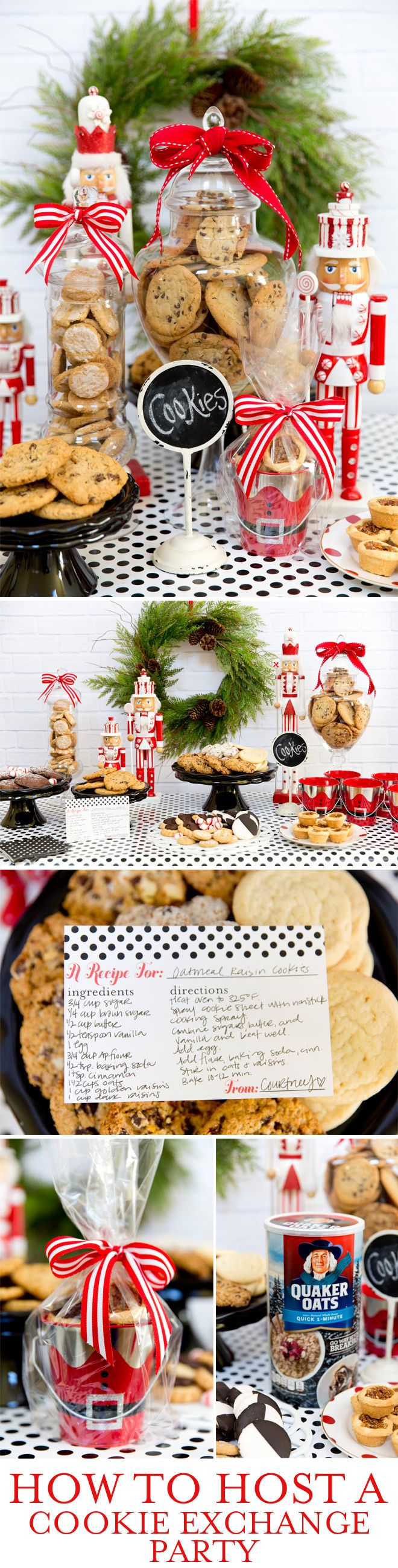 How to Host a Cookie Exchange Party! #MyOatsCreation @spon