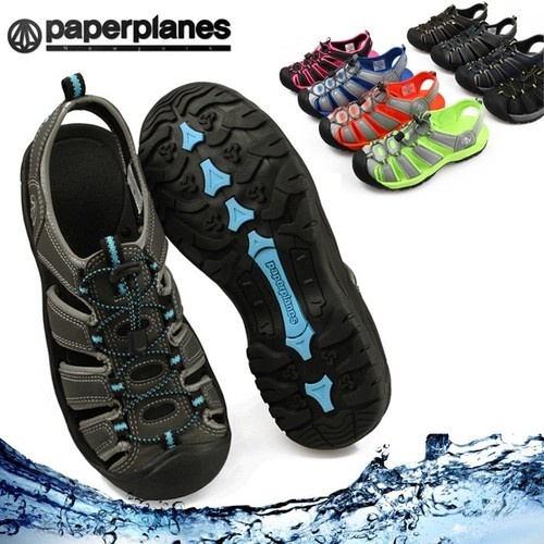 New Paperplanes Mens Water Shoes Aqua Sports Sandals Easy Athletic  Multi-Colors $36.49