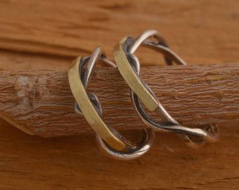 Popular Items similar to Silver Twig Wedding Rings Rustic Wedding Rings Commitment Rings Branch Rings Unusual Wedding Bands Woodland Wedding on Etsy