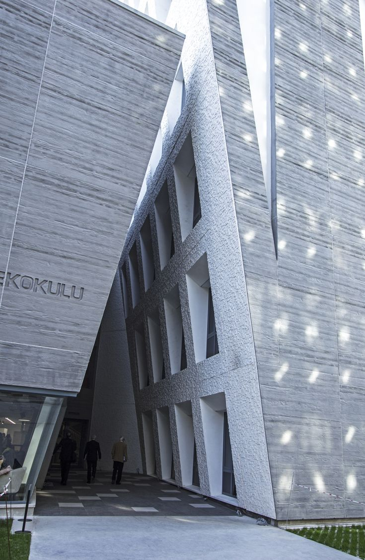 Image 1 of 54 from gallery of School of Foreign Languages / AUDB Architects. Photograph by Argun Tanriverdi