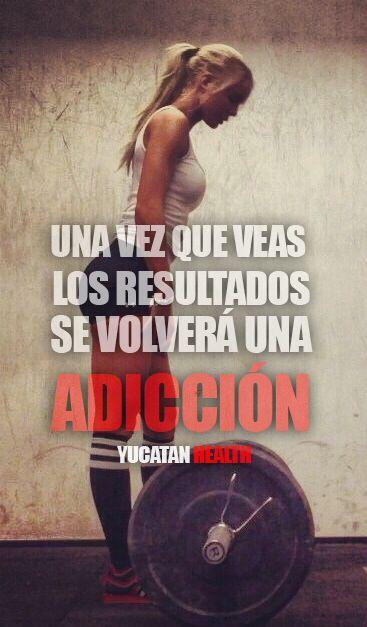 Una vez veas los resultados, se volverá una adicción