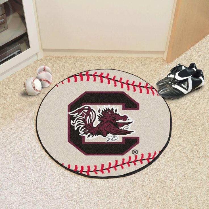 Fanmats South Carolina Gamecocks Baseball Mat, Team
