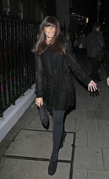 Claudia Winkleman and her lovely hair