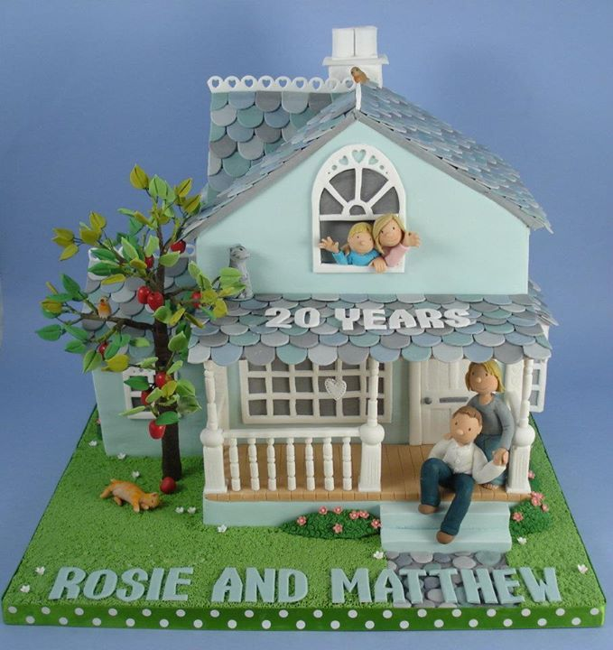 Edible Art, 20th Anniversary House.