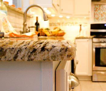 "1/2"" Beveled Edge Granite   Granite Edge   Granite Edges"