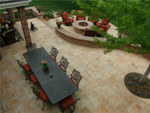 Beautiful Backyard Backyard Landscaping Jump Design Company Denver, CO