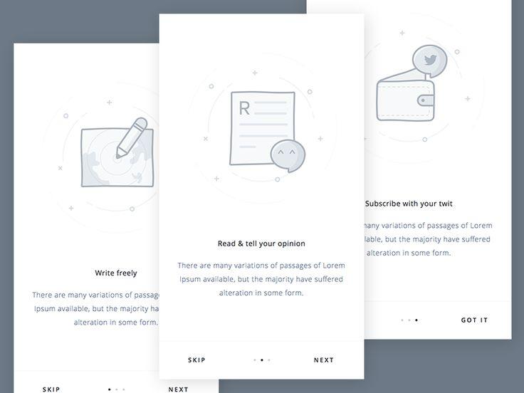 Mobile Blog App Intro