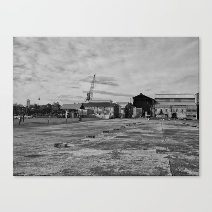 Buy Urban Island Exploration Canvas Print by urbanfragments. Worldwide shipping available at Society6.com. Just one of millions of high quality products available.